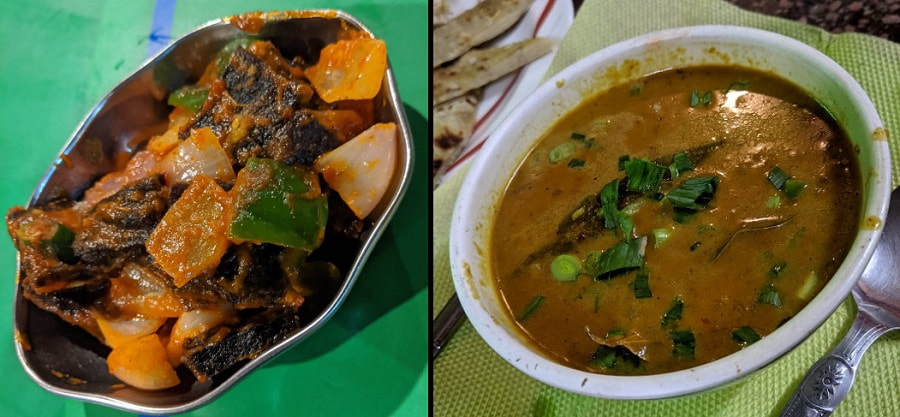 Buff Chili and Buff Curry in Kathmandu
