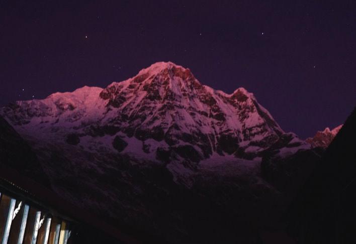 Annapurna Base Camp Pre-Dawn - ABC Trek Day 5