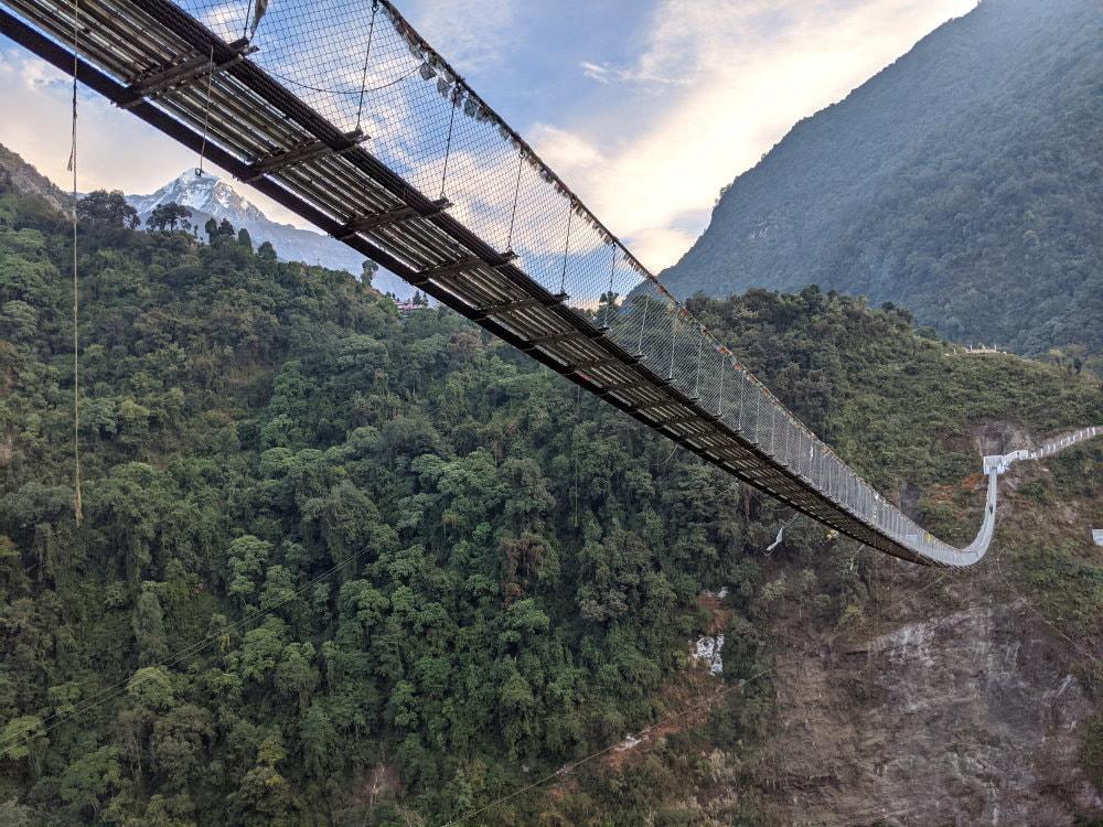 Foot Bridge - ABC Trek Day 7