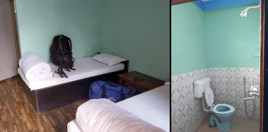 Ghandruk Room on the Annapurna Base Camp Trek