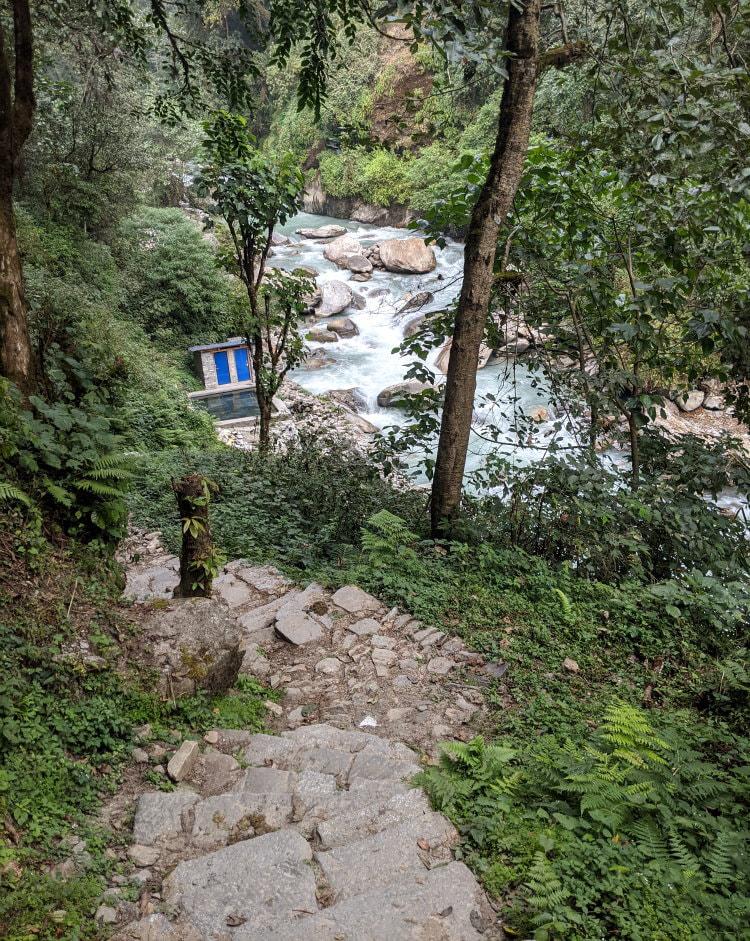 Jhinu Hot Spring Trail - ABC Trek Day 6