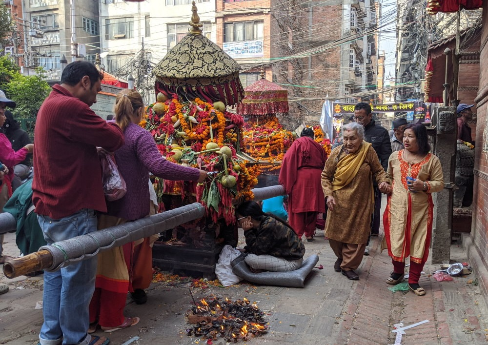 Kathmandu Temple - Religious Festival