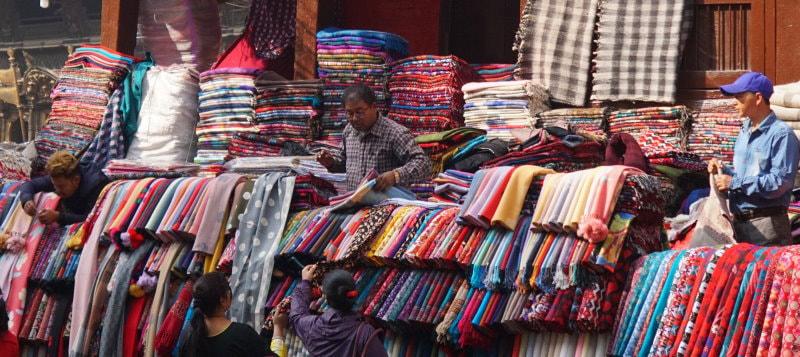 Kathmandu Market - Fabric