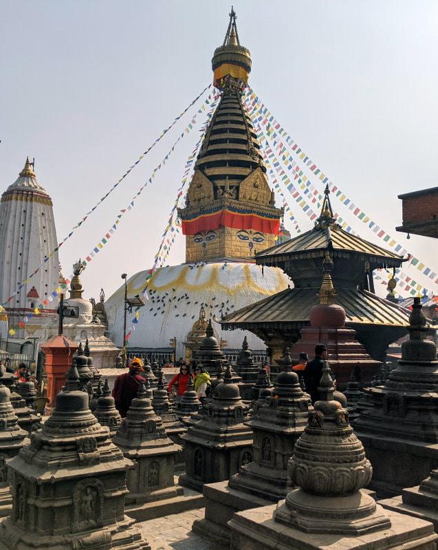Kathmandu Monkey Temple