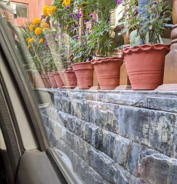 Kathmandu Roads - Walls just inches away