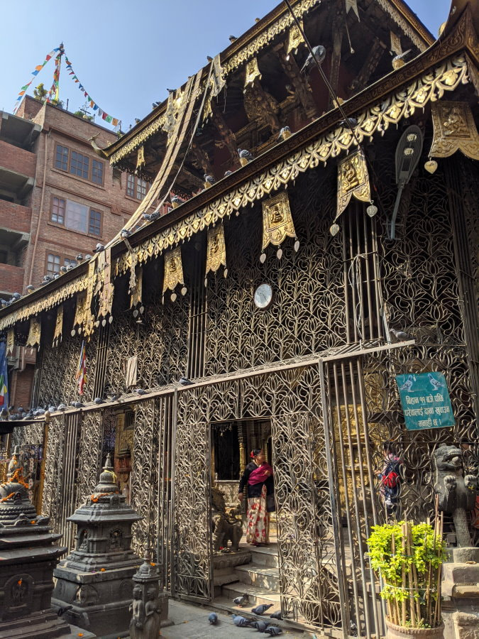 Kathmandu Temple - Seto Machhendranath