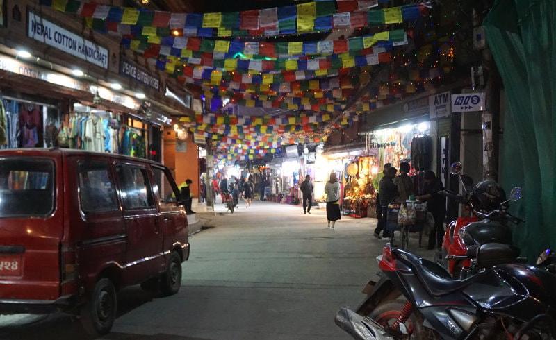 Thamel - Kathmandu's Tourist District