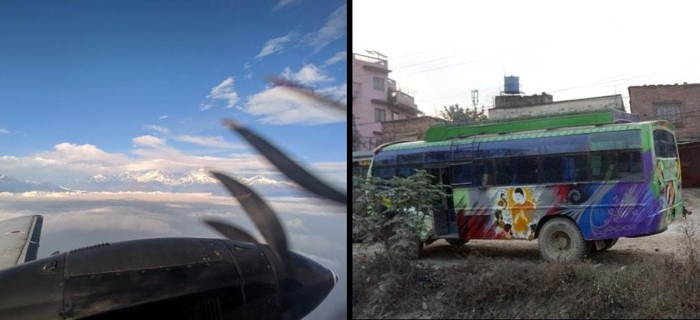 Transportation from Kathmandu to Pokhara