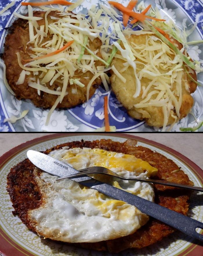 Potato Rosti on the Annapurna Base Camp Trek
