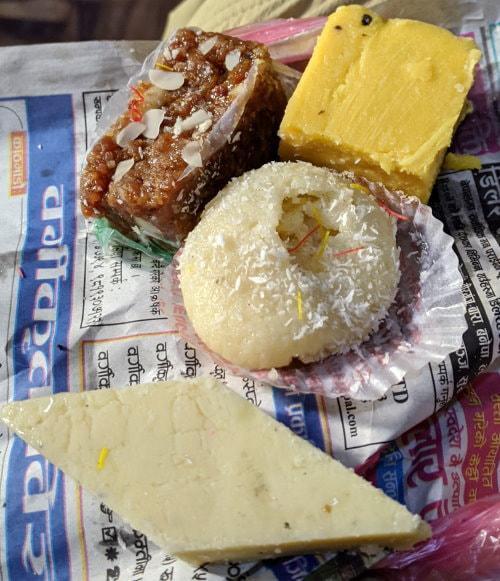 Sweets in Kathmandu