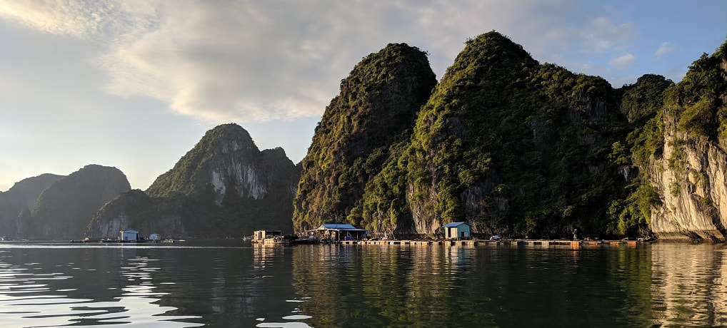 Vietnam - Ha Long Bay - Cruising, kayaking, and an island stay