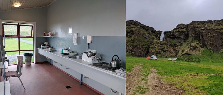 Hamragarðar Campsite