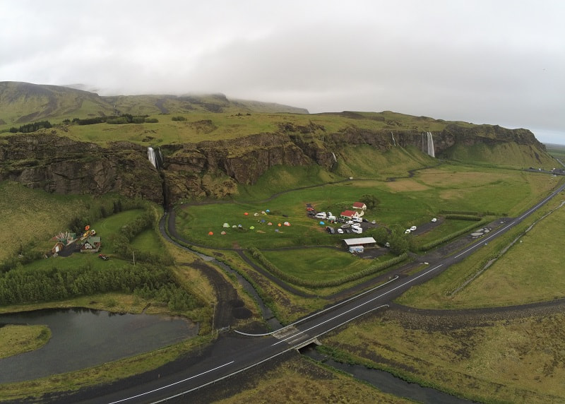 Iceland Camping