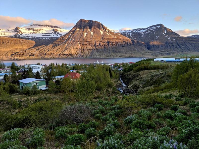 Fjord 8 - Reyðarfjörður