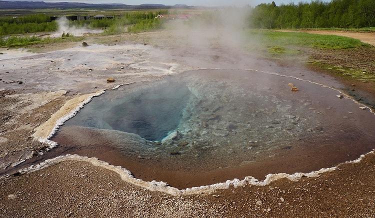 Geysir Geothermal Area Pool