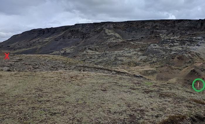 Haifoss Trail