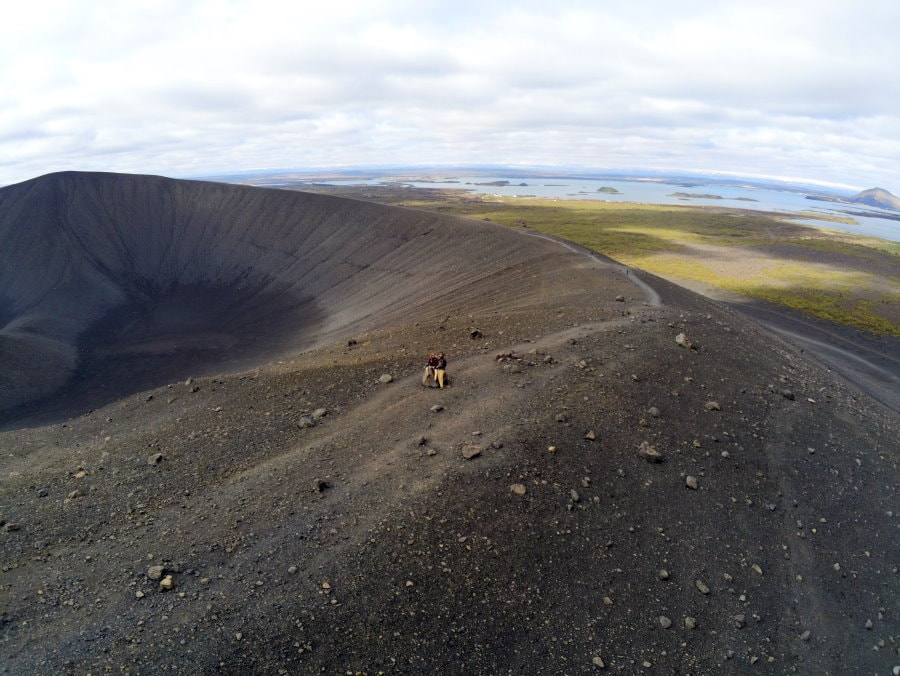 Hverfjall (or Hverfell) Volcanic Crater Hike