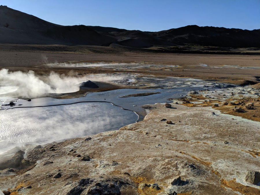 Hverir Geothermal Park