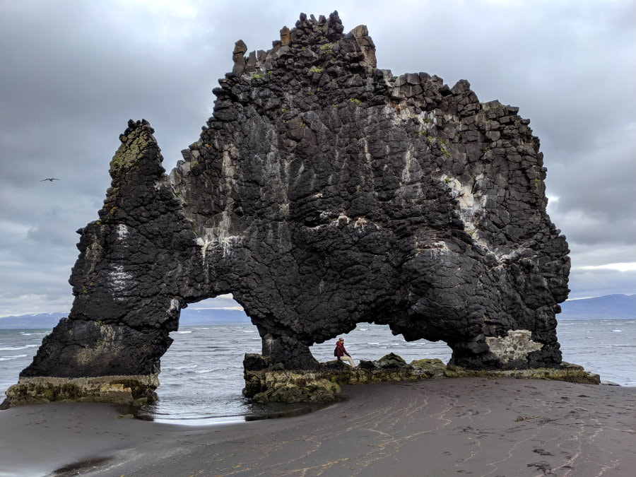 Hvítserkur Dragon Rock