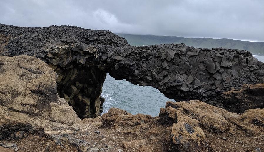Kirkjufjara Beach Arch
