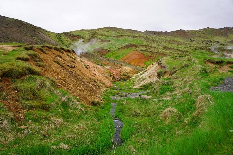Reykjadalur Hot Spring River Trail