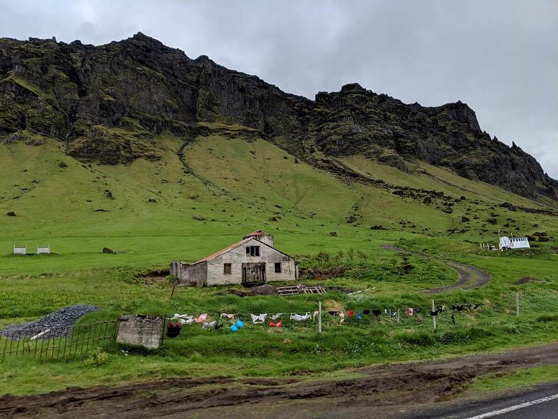 Route 1 between Seljalandsfoss & Skógafoss