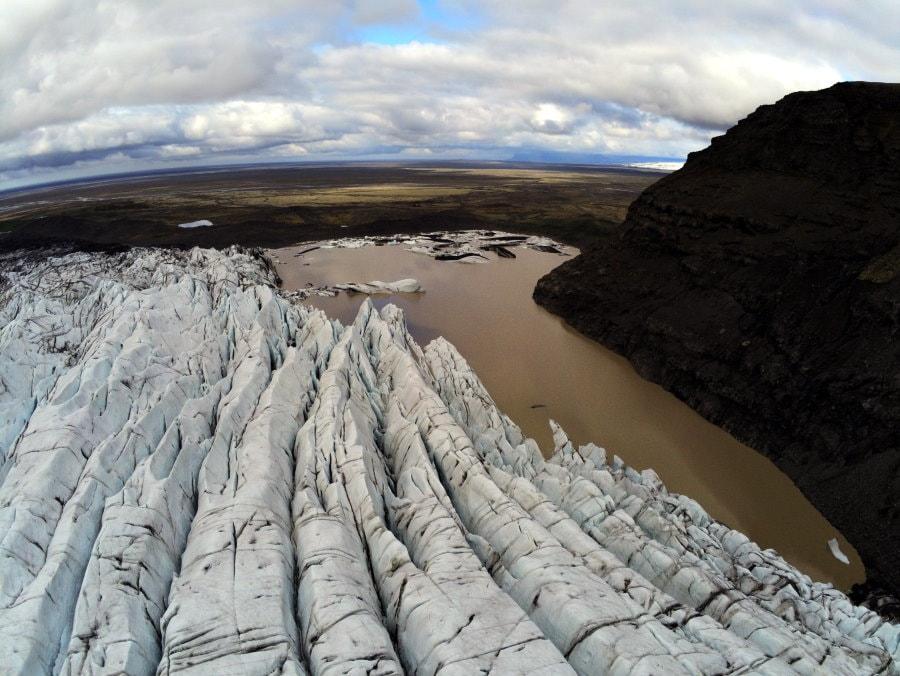 Svínafellsjökull Glacier View
