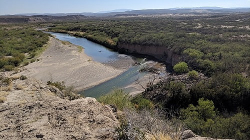 Rio Grande from Boquillos