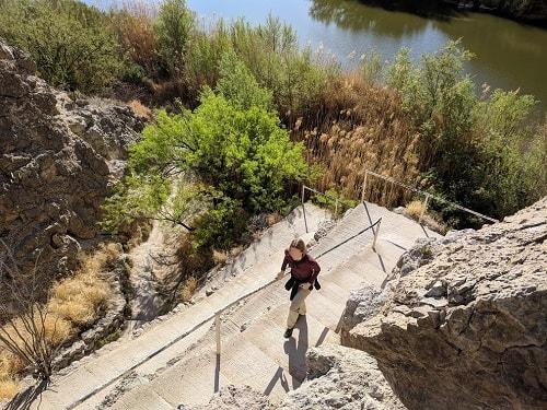 Santa Elena Canyon Climb