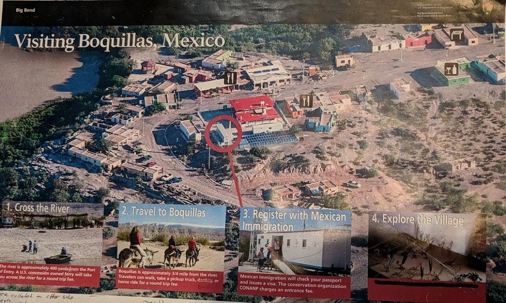 Boquillas Map