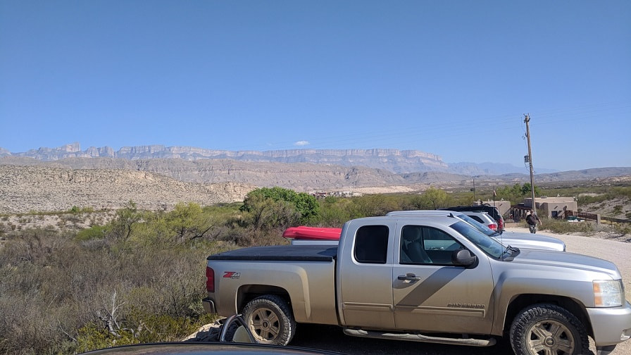 Boquillas Crossing Ranger