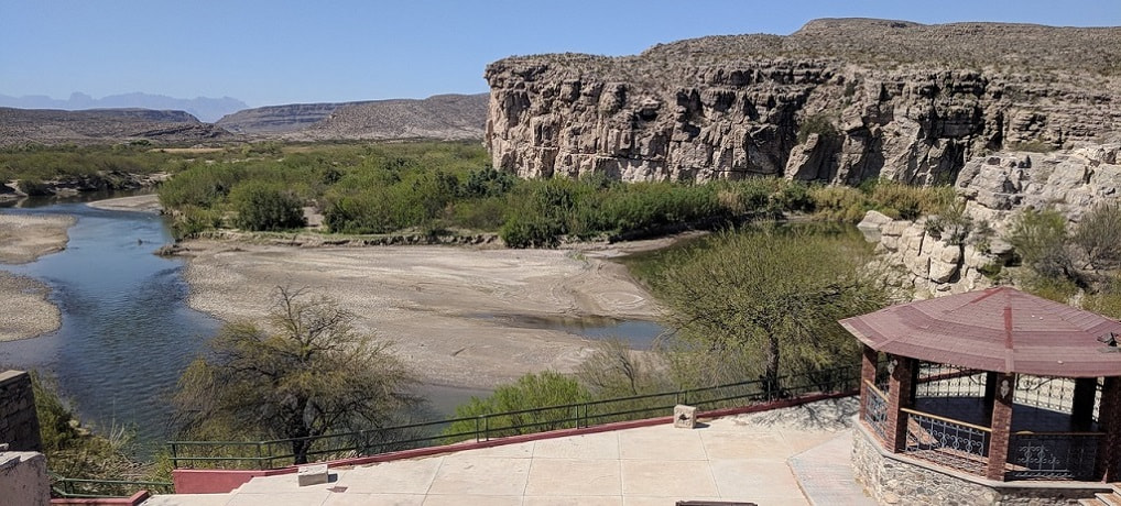 Big Bend National Park - Border Crossing to Boquillas - Legally walk to Mexico