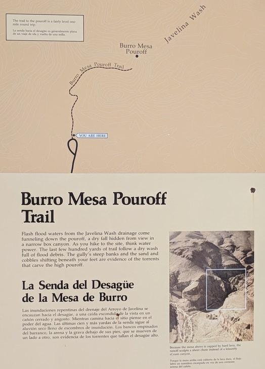 Burro Mesa Sign