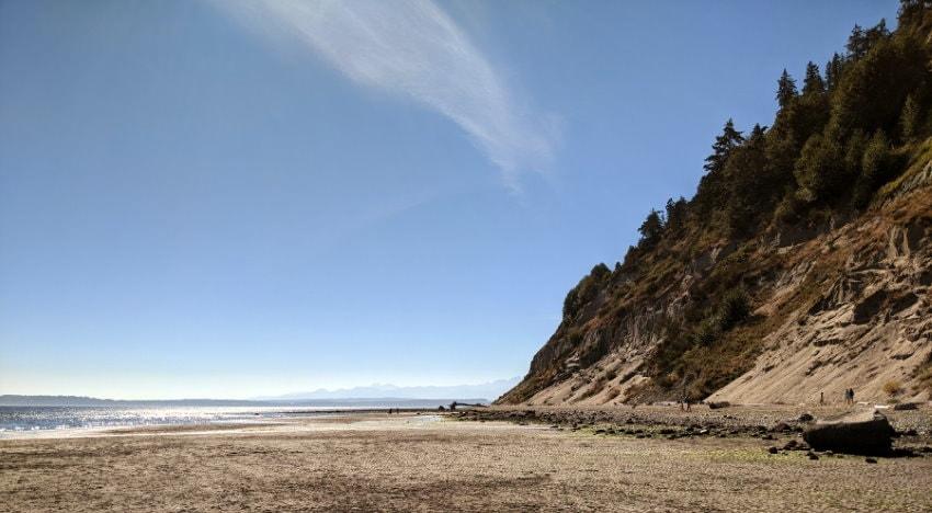 Double Bluff Beach - Washington State