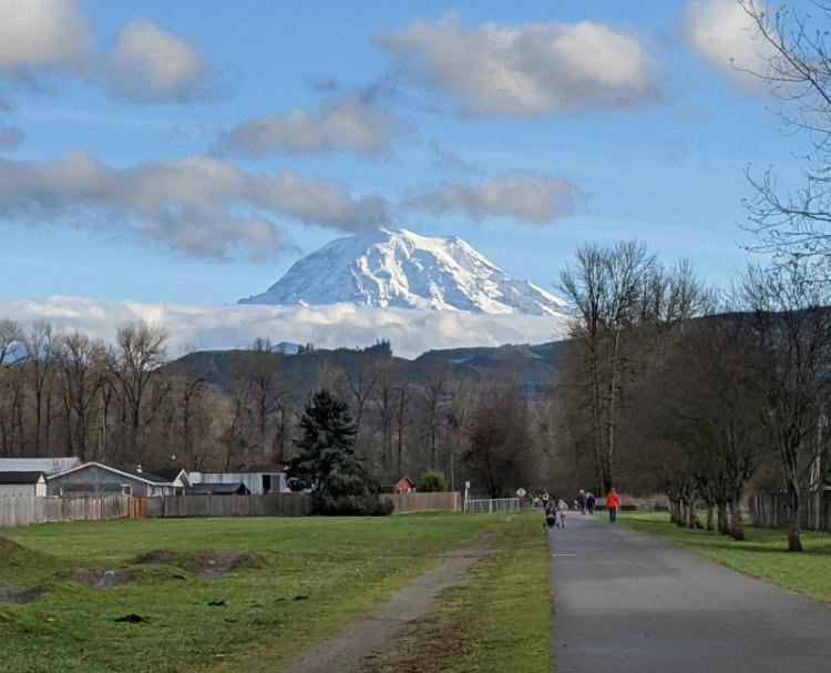 Orting Foothills Trail - Washington State