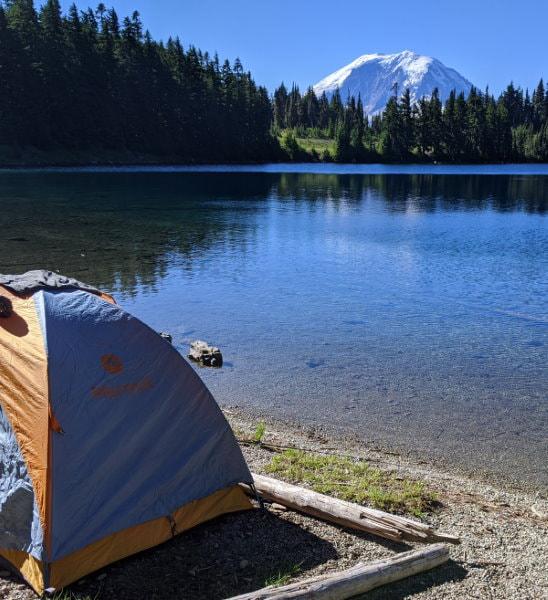Summit Lake Camping - Washington State