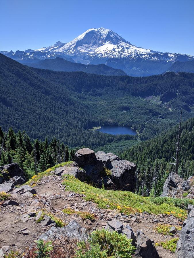 Summit Lake Summit Lookout - Washington State
