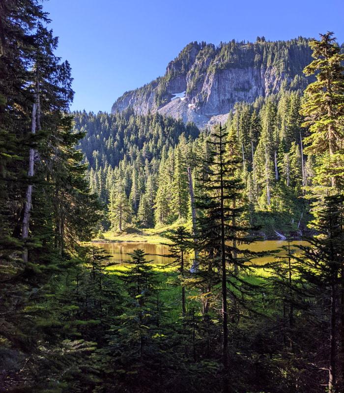 Summit Lake Trail Split - Washington State